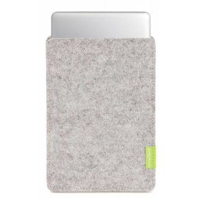 MacBook Sleeve Hellgrau