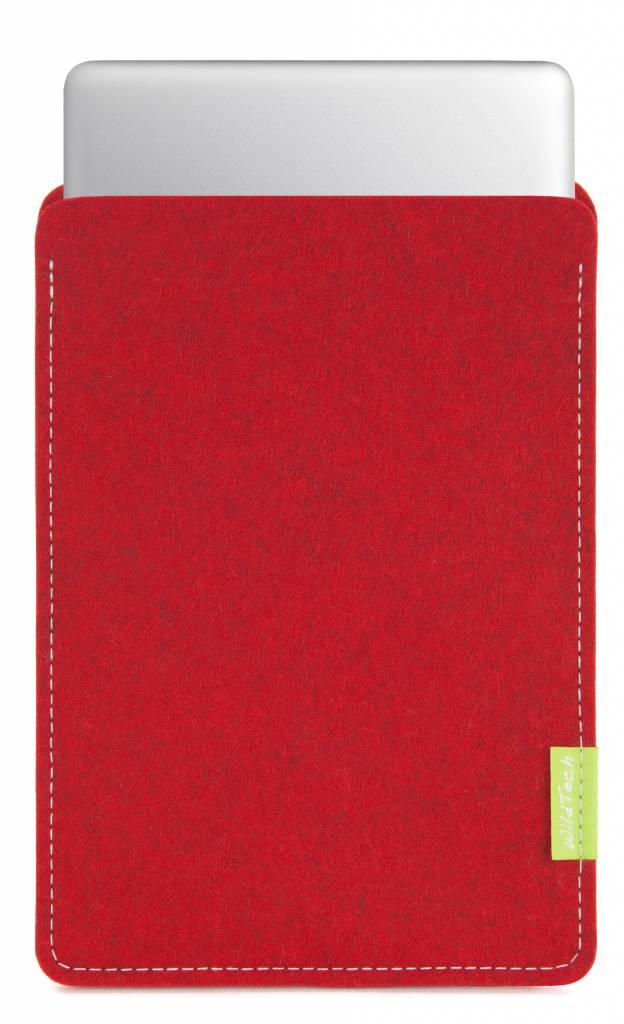 MacBook Sleeve Kirschrot-1