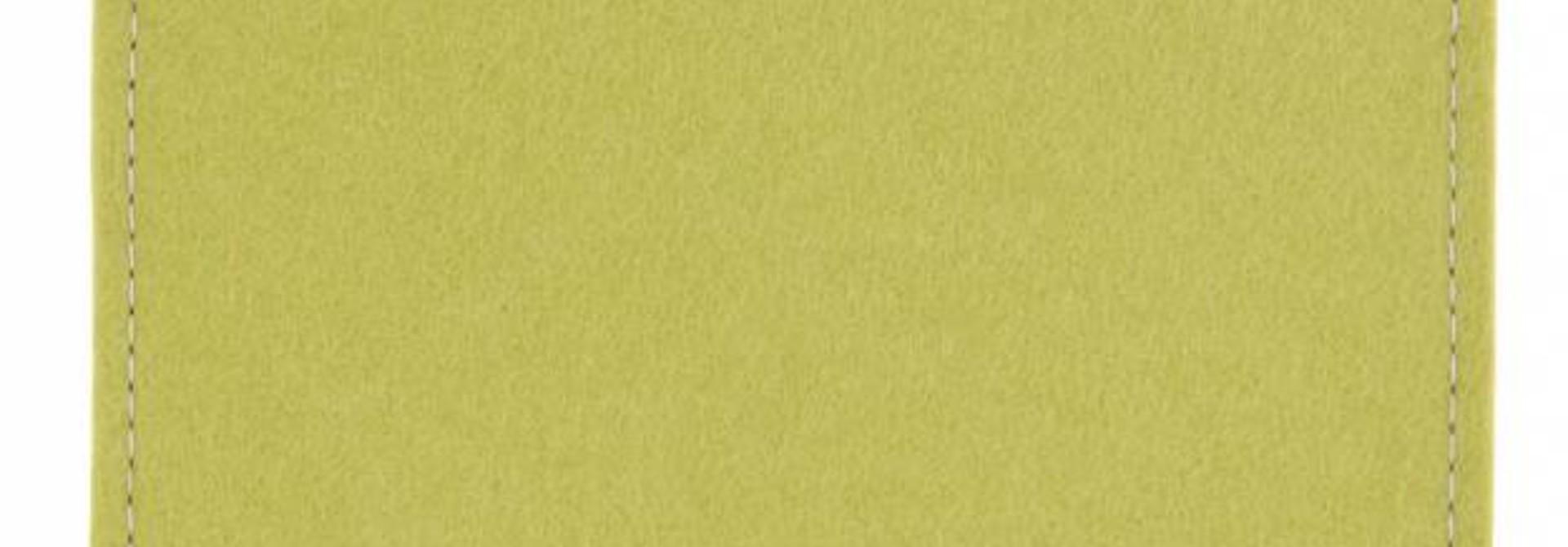 MacBook Sleeve Lindgrün