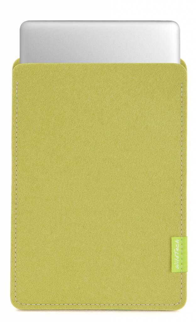 MacBook Sleeve Lindgrün-1