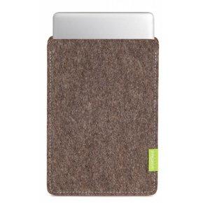 MacBook Sleeve Natur-Meliert