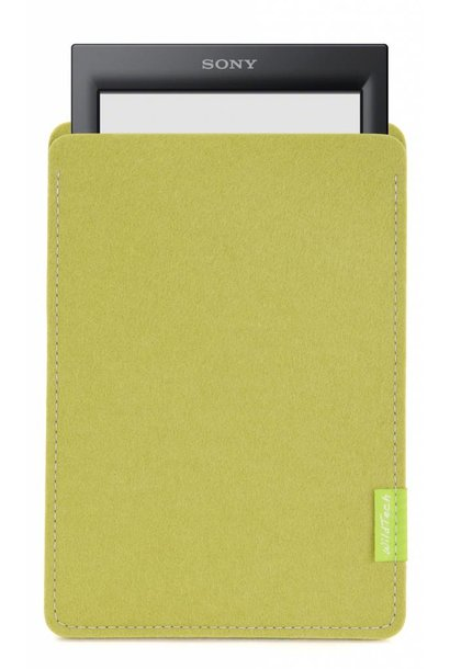 PRS eBook Sleeve Lindgrün