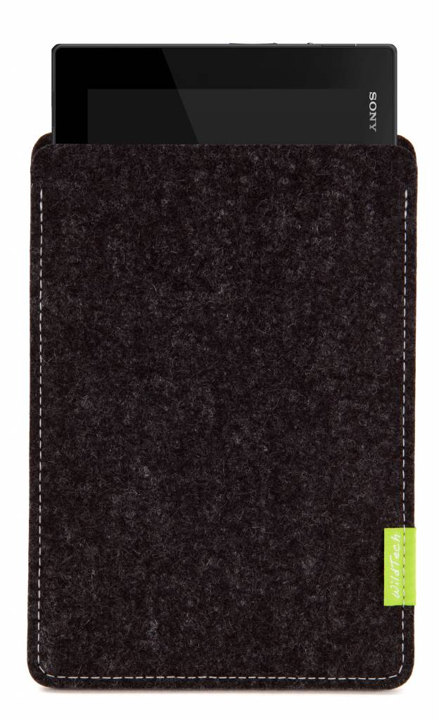 Xperia Tablet Sleeve Black-Anthracite-1