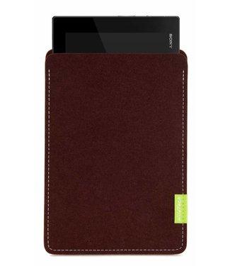 Sony Xperia Tablet Sleeve Dunkelbraun