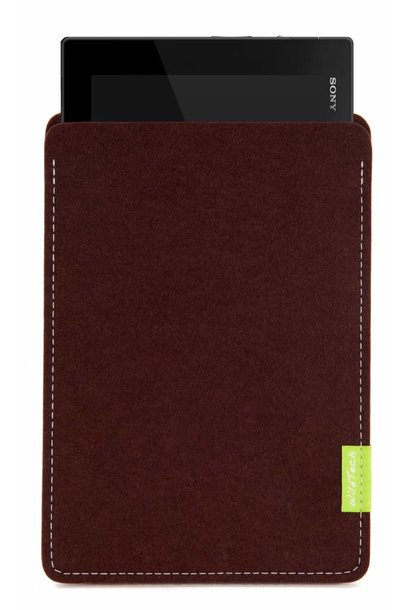 Xperia Tablet Sleeve Dunkelbraun