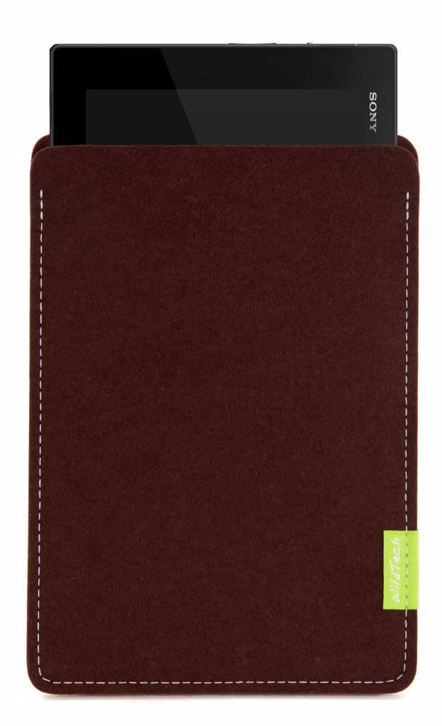 Xperia Tablet Sleeve Dark-Brown-1
