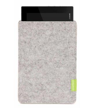 Sony Xperia Tablet Sleeve Hellgrau