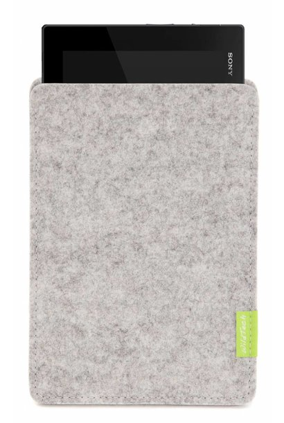 Xperia Tablet Sleeve Hellgrau