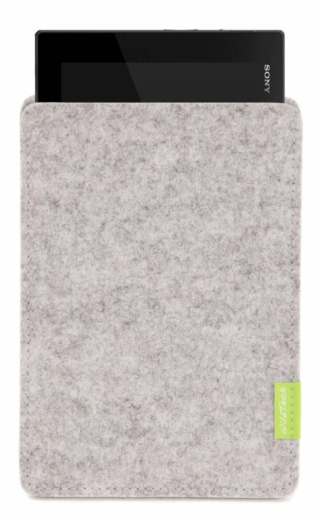 Xperia Tablet Sleeve Light-Grey-1