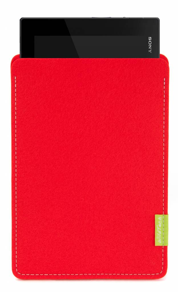 Xperia Tablet Sleeve Bright-Red-1