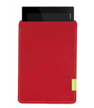 Sony Xperia Tablet Sleeve Kirschrot