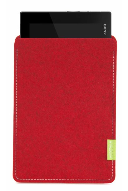 Xperia Tablet Sleeve Kirschrot