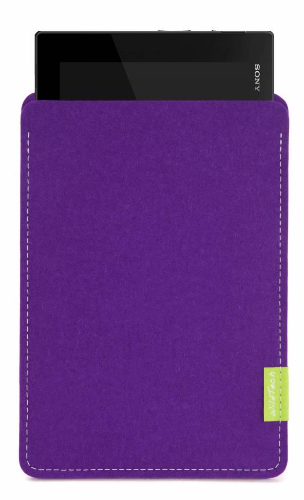 Xperia Tablet Sleeve Purple-1
