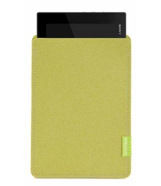 Sony Xperia Tablet Sleeve Lindgrün