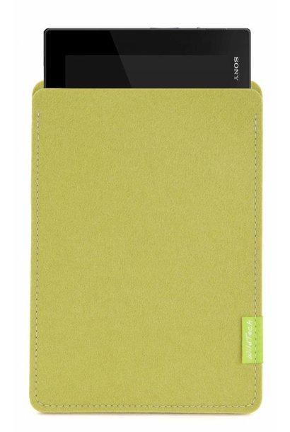 Xperia Tablet Sleeve Lindgrün