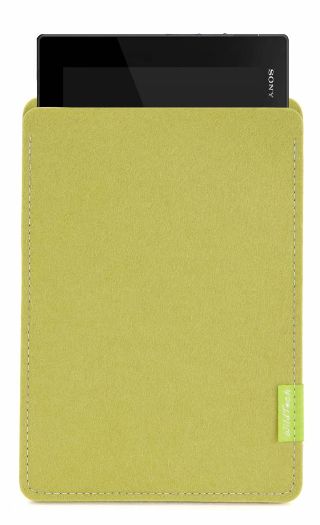 Xperia Tablet Sleeve Lime-Green-1