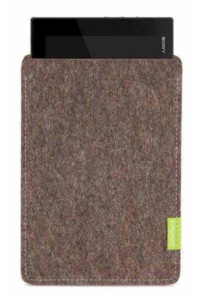 Xperia Tablet Sleeve Natur-Meliert