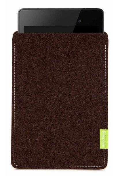Pixel/Nexus Tablet Sleeve Trüffelbraun