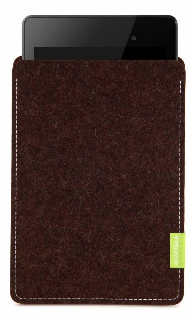 Pixel/Nexus Tablet Sleeve Truffle-Brown-1