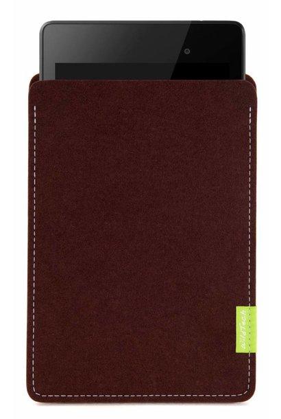 Pixel/Nexus Tablet Sleeve Dunkelbraun