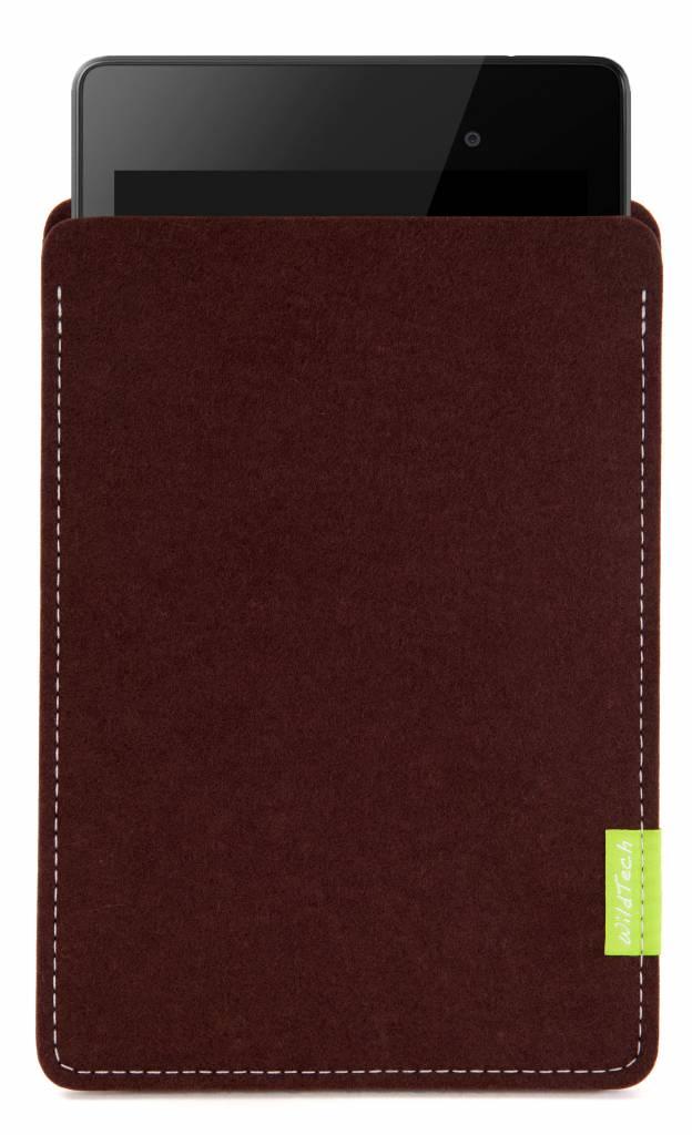 Pixel/Nexus Tablet Sleeve Dark-Brown-1