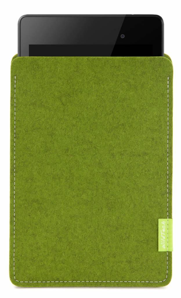 Pixel/Nexus Tablet Sleeve Farn-Green-1