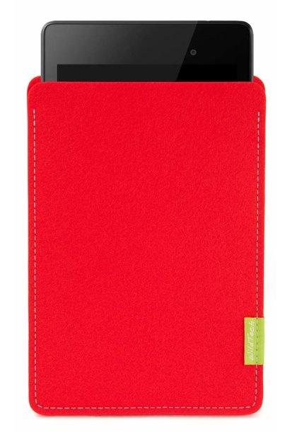 Pixel/Nexus Tablet Sleeve Hellrot