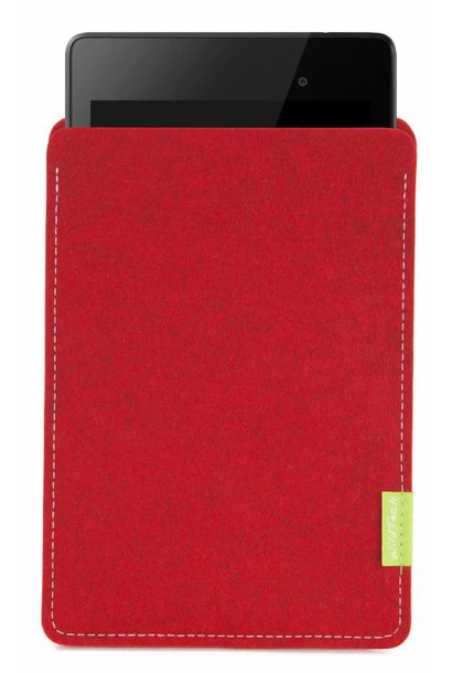 Pixel/Nexus Tablet Sleeve Cherry