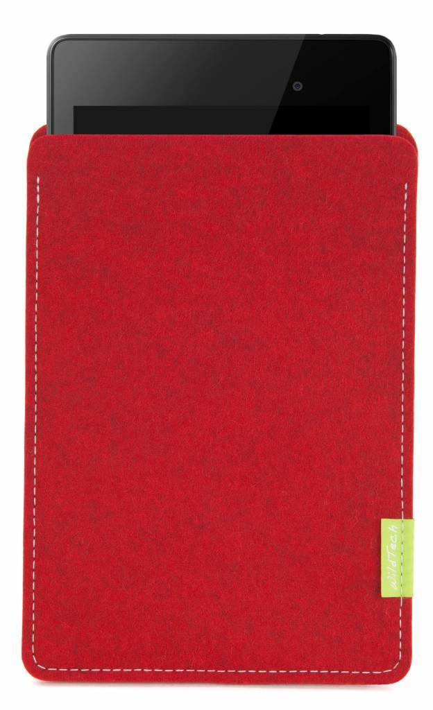 Pixel/Nexus Tablet Sleeve Kirschrot-1