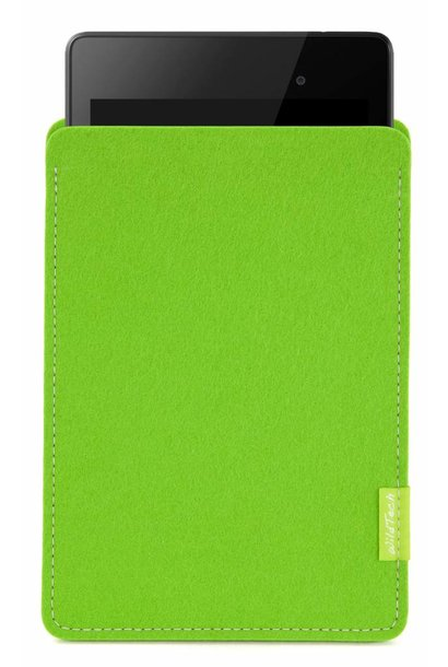 Pixel/Nexus Tablet Sleeve Bright-Green