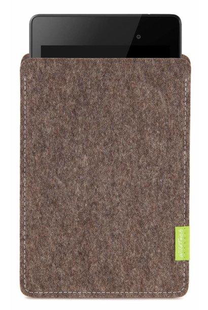 Pixel/Nexus Tablet Sleeve Natur-Meliert