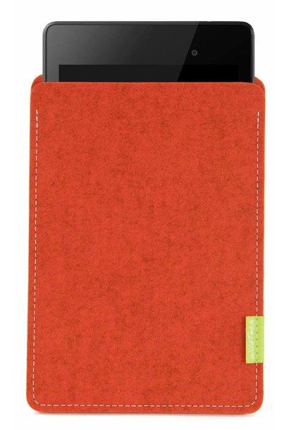 Pixel/Nexus Tablet Sleeve Rust