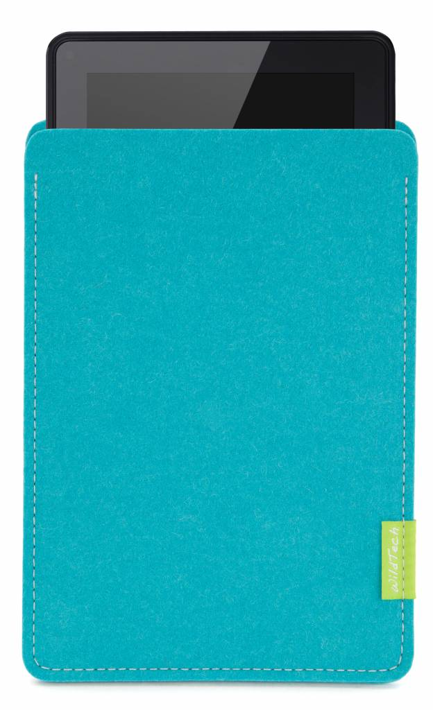 Kindle Fire Sleeve Turquoise-1