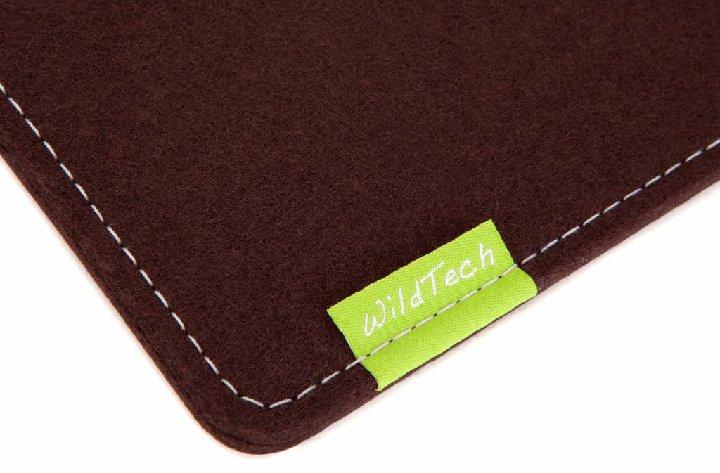 Kindle Fire Sleeve Dunkelbraun-2