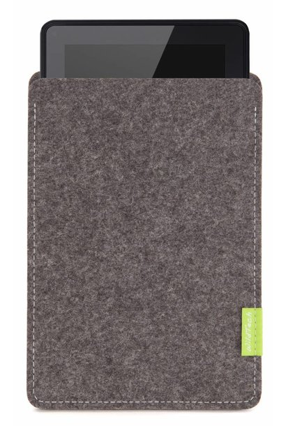 Kindle Fire Sleeve Grau