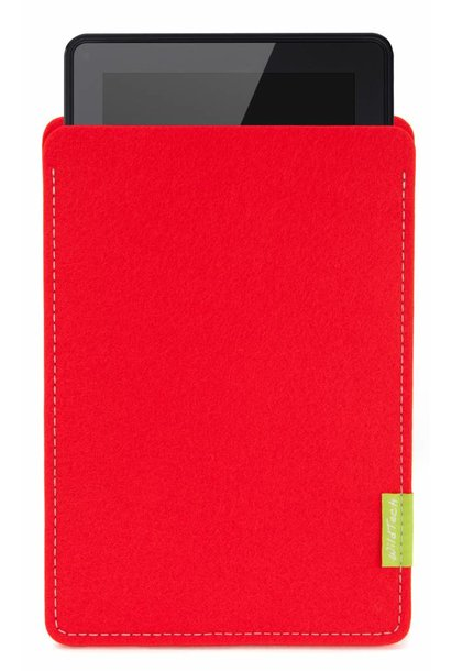 Kindle Fire Sleeve Bright-Red