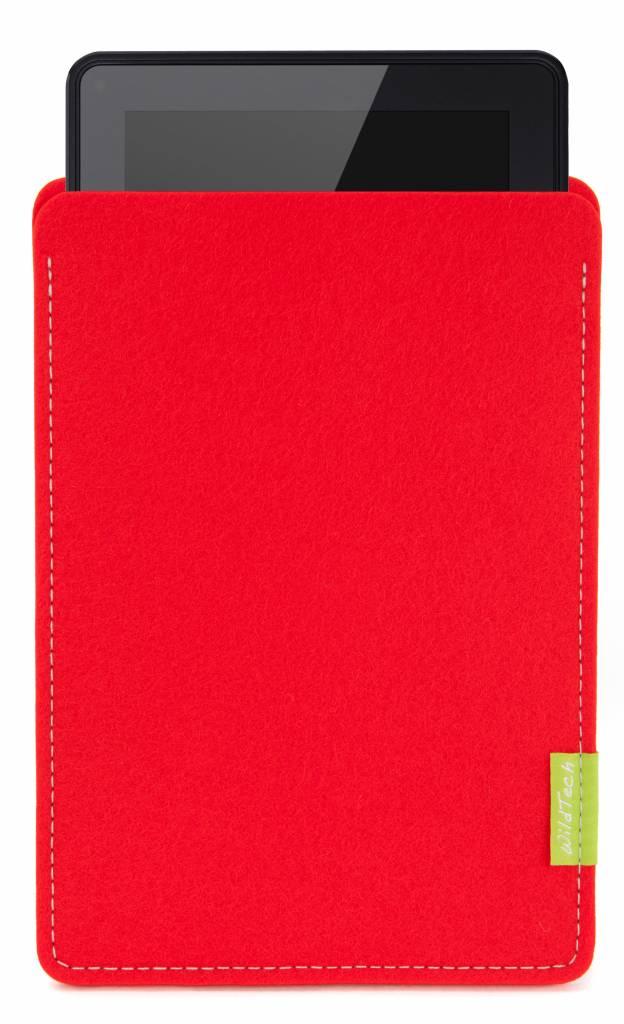 Kindle Fire Sleeve Hellrot-1