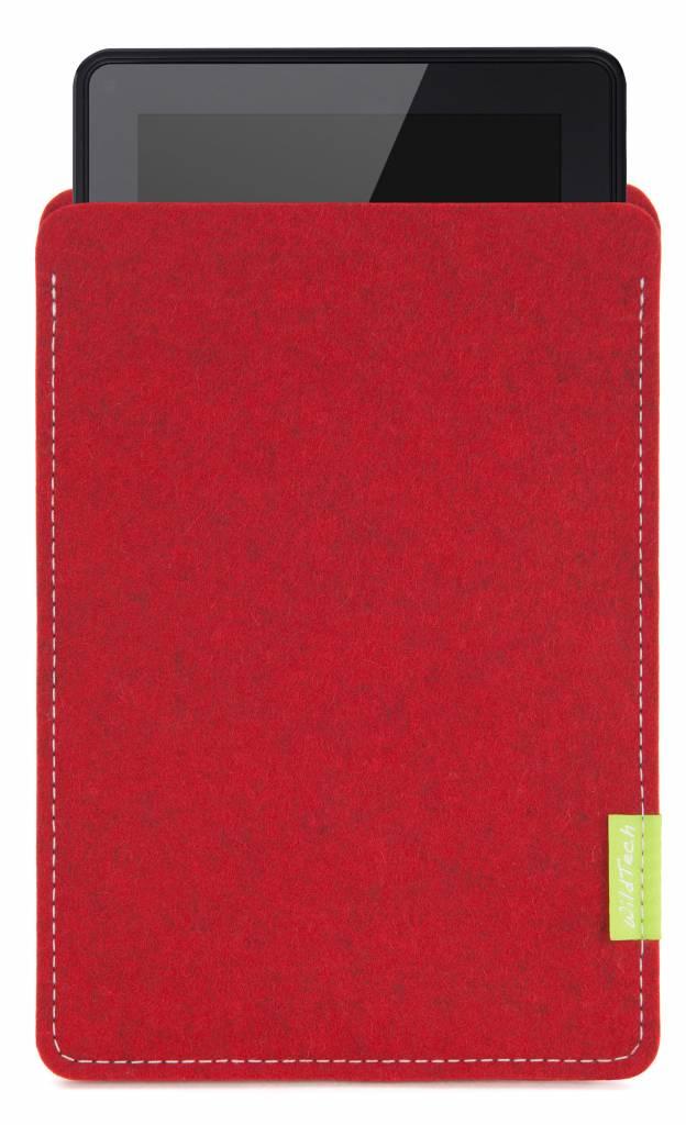 Kindle Fire Sleeve Kirschrot-1