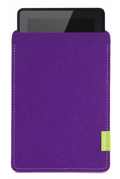 Kindle Fire Sleeve Lila