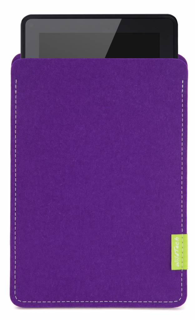 Kindle Fire Sleeve Lila-1