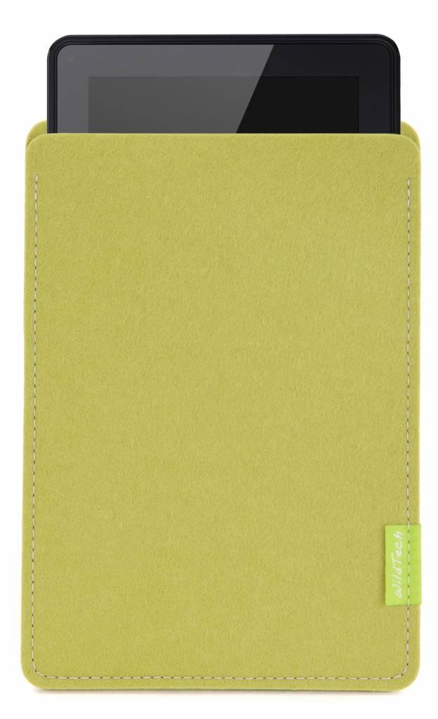 Kindle Fire Sleeve Lime-Green-1