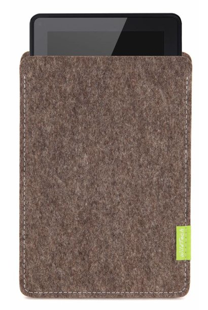 Kindle Fire Sleeve Natur-Meliert
