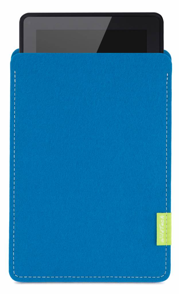 Kindle Fire Sleeve Petrol-1