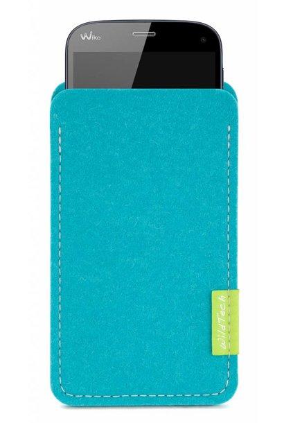 Smartphone Sleeve Türkis