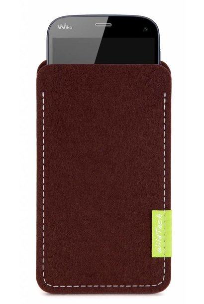 Smartphone Sleeve Dunkelbraun