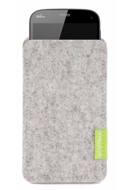 Smartphone Sleeve Hellgrau