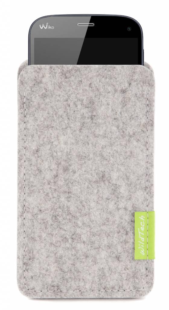 Smartphone Sleeve Hellgrau-1