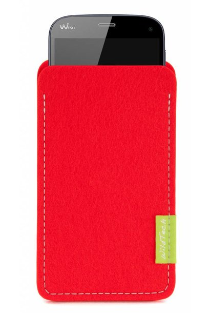 Smartphone Sleeve Bright-Red
