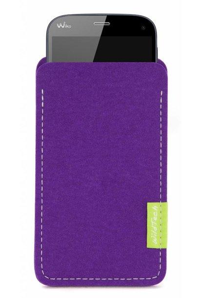 Smartphone Sleeve Lila