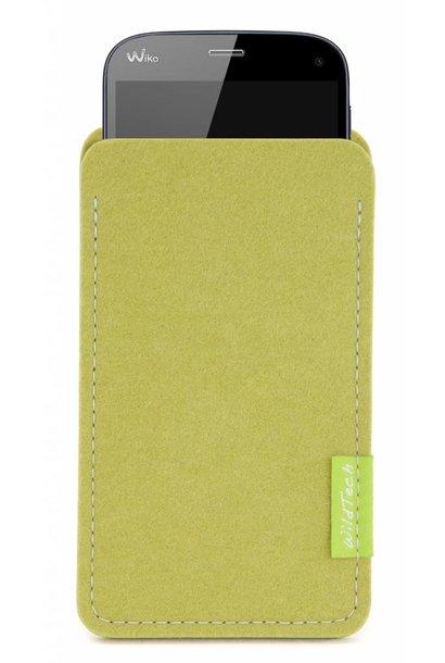 Smartphone Sleeve Lindgrün